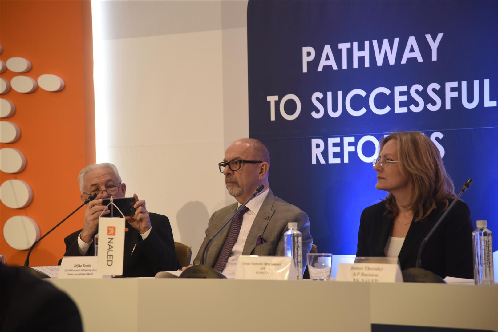 The path of successful reforms starts from businesses and local governments