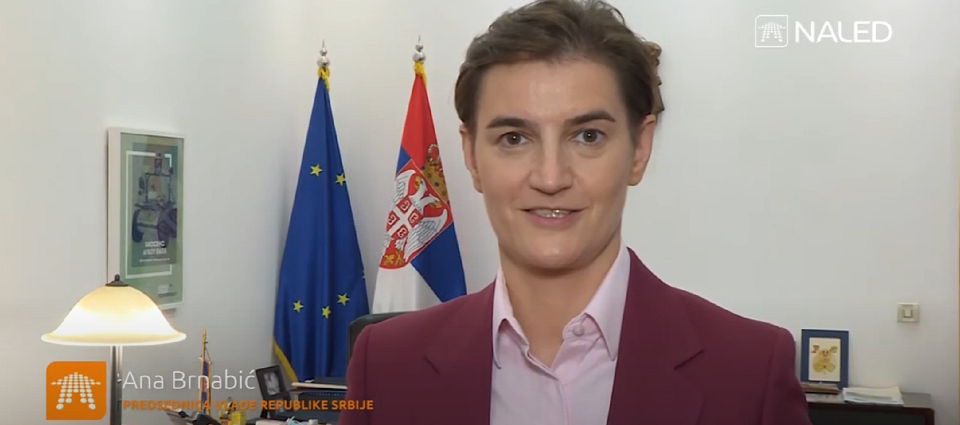 Ana Brnabić's address  at the 14th NALED Assembly
